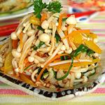 家常凉菜-凉拌金针菇