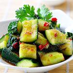 家常凉菜-凉拌黄瓜