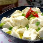 家常凉菜-小葱拌豆腐